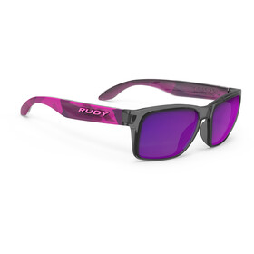 Rudy Project Spinhawk Slim Sunglasses Neo Camo Crystal Wine - RP Optics Multilaser Violet